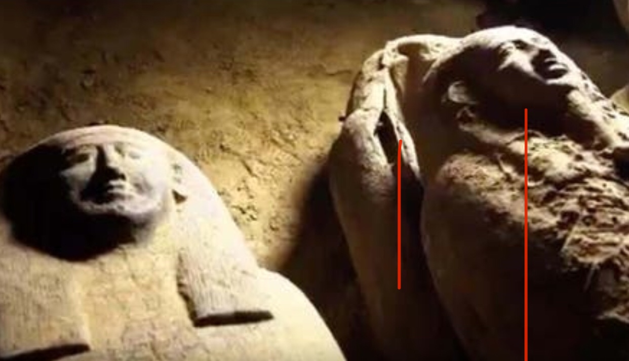 Dozen of 2,500-year-old untouched mummies discovered in Egypt